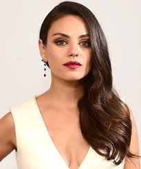 hairstyles for hair just past the shoulders mila kunis chopped her hair into a bob instyle com