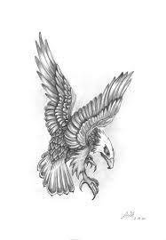 eagle tattoo clipart grey ink flying eagle tattoo design