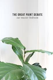 the great paint debate solved master bedroom before u0026 after