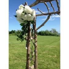 rent party supplies driftwood arbor for rent custom event rental party supplies
