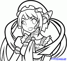 vocaloid coloring pages coloring site 2660
