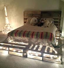 chambre ambiance romantique ambiance romantique chambre comment faire un lit en palette 52 id