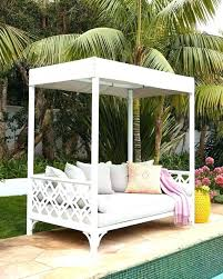 Outdoor Daybed With Canopy Hanging Outdoor Daybed Hanging Outdoor Daybed With Pillows