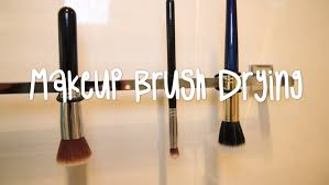 best way to dry your makeup brushes beauty bit youtube