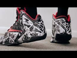 nike lebron xi retail released graffiti on sneaker review