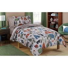 Sheet Bedding Sets Mainstays Cing Bed In A Bag Bedding Set Walmart
