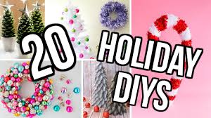 Room Decor Diys 20 Diy Holiday Room Decor Project Ideas Diy Christmas Decor