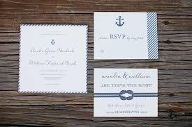 Wedding Invitations Nautical Theme - nautical theme for southern wedding the celebration society