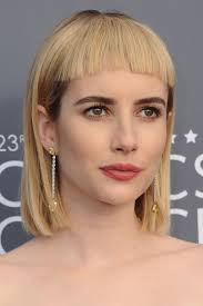 lob hairstyles with bangs 26 lob haircuts on celebrities best long bob hairstyle ideas