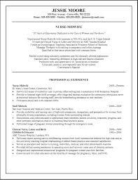 Professional Nursing Resume Examples by Labor And Delivery Nurse Resume Sample Resume For Your Job