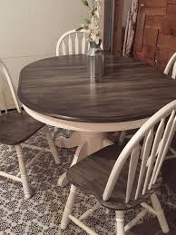 Diy Round Wood Table Top by Best 25 Dining Table Makeover Ideas On Pinterest Dining Table