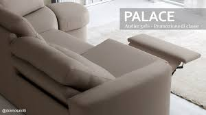 poltrone doimo doimo salotti divano palace con meccanismo relax
