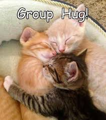 Group Hug Meme - the best kind of hugs are group hugs lolcats lol cat memes