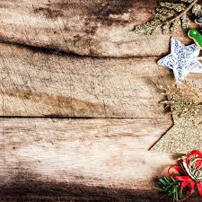 christmas decorations on wooden old table u2014 stock photo