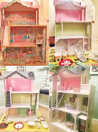 dollhouse makeover video at home with natalie