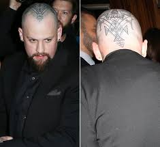benji madden u0027s head tattoo u2014 see pics of the massive ink here