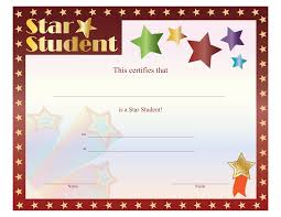 free perfect attendance certificate template example of