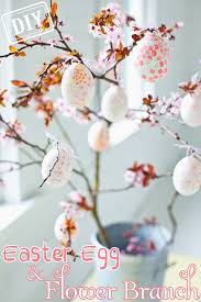 Cheap Party Centerpiece Ideas by Diy Easter Egg Flower Branch U2013 Top Easy Craft Design For Cheap