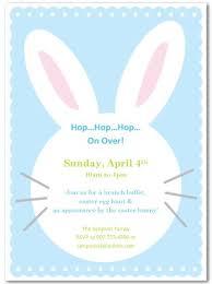 rabbit invitation printable easter bunny invitation template