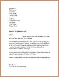 job resignation letter resignation letter from a job temporary