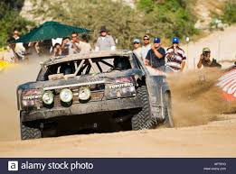 baja trophy truck robby gordon trophy truck arrving in cabo san lucas at finish of
