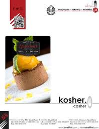 cuisine casher kosher catalog catalogue casher by qualifirst foods issuu