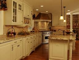 french country kitchen backsplash video and photos