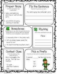 3rd grade 4th grade writing worksheets building words language