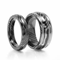 matching titanium wedding bands matching wedding bands titanium tungsten and palladium matching