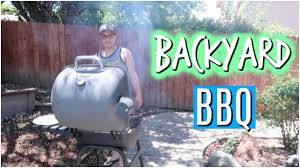 backyard bbq with friends july 1 2017 youtube