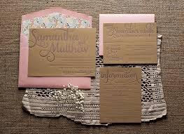 Rustic Invitations Romantic Rustic Wedding Invitations Invitation Crush