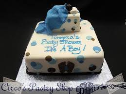 baby shower boy cakes circo s pastry shop bakery fondant cakes bushwick