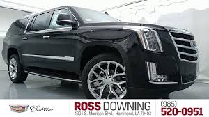 cadillac escalade 2017 new 2017 cadillac escalade esv from your hammond la dealership