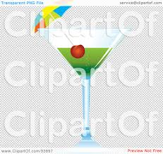 green cocktail png royalty free rf clipart illustration of a cocktail umbrella and