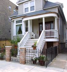 exterior astounding white front porch decoration with white wood