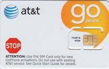 ready prepaid card at t prepaid go phone 3g sim card ready to activate