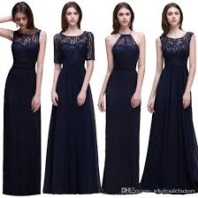 navy bridesmaid dresses cheapest navy bridesmaid dresses 2017 new designer lace