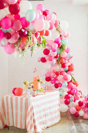 30th birthday flowers and balloons 20 balloon décor ideas for a girl s birthday party shelterness