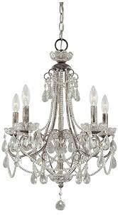 Minka Lighting Chandeliers Amazon Com Minka Lavery 3134 207 Miniature Chandeliers Crystal