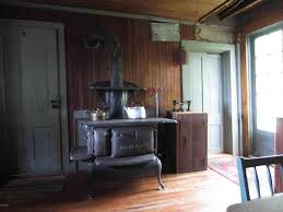 kitchen ideas for older homes woodburning stove in the summer kitchen old homes for sale