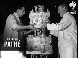wedding cake history the royal wedding cake 1934