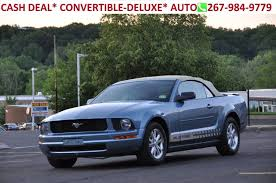 ford mustang v6 2007 ford mustang v6 deluxe in pennsylvania for sale used cars on