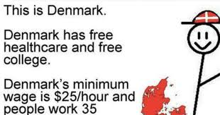 Denmark Meme - boom another liberal meme promoting socialism ripped to shreds