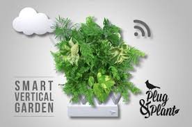 The Smart Garden by Plug And Plant The Smart Way To Vertical Gardening