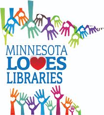 Minnesota On Map Mn Loves Libraries Logo 2016 Jpg