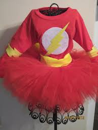 Softball Halloween Costumes Flash Inspired Girls Tutu Costume Sweetlaylakays Etsy