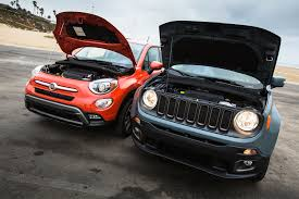 jeep renegade exterior 2016 fiat 500x trekking awd better or worse than the jeep