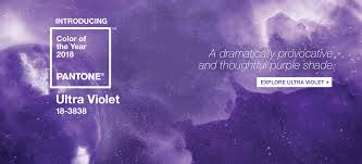 shades of purples pantone announced color of the year 2018 pantone 18 3838 ultra