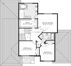 Master Bedroom Bath Floor Plans Modern Style House Plan 3 Beds 2 50 Baths 2410 Sq Ft Plan 138 357