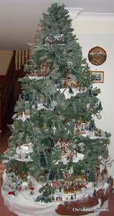 What Trees Are Christmas Trees - save time and space by building a village in your christmas tree